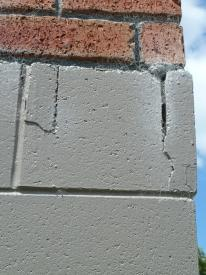 cracks in foundation walls