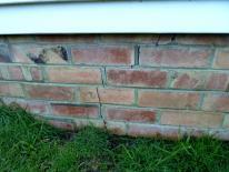 HCS cracks in bricks and mortar