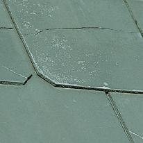 cracked fibre cememt shingle roofing