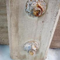 corroded bolts veranda